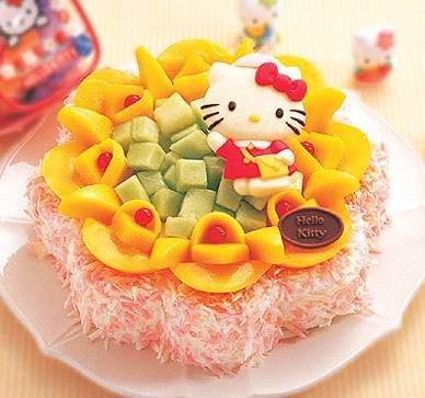Een Afbeelding Van Dikke Vrouw Zitten Voor Verjaardags Cake Te